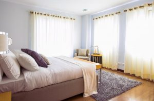 beautiful bedroom for beating insomnia