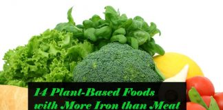 Foods with more iron than meat