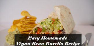 Vegan Bean Burrito Recipe