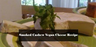 Smoked Cashew Vegan Cheese